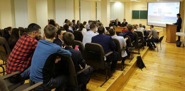 Встреча молодых специалистов ОАО «Удмуртнефть» и студентов Института нефти и газа им. М.С. Гуцериева 2