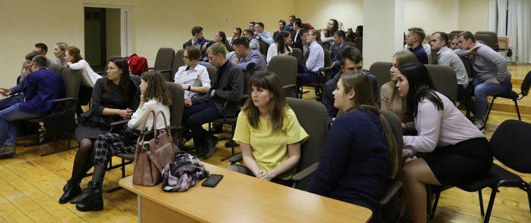 Встреча молодых специалистов ОАО «Удмуртнефть» и студентов Института нефти и газа им. М.С. Гуцериева 7