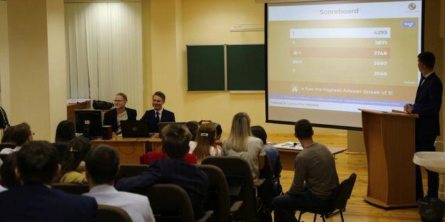 Встреча молодых специалистов ОАО «Удмуртнефть» и студентов Института нефти и газа им. М.С. Гуцериева 9