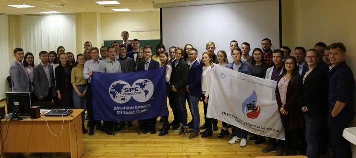 Встреча молодых специалистов ОАО «Удмуртнефть» и студентов Института нефти и газа им. М.С. Гуцериева 15
